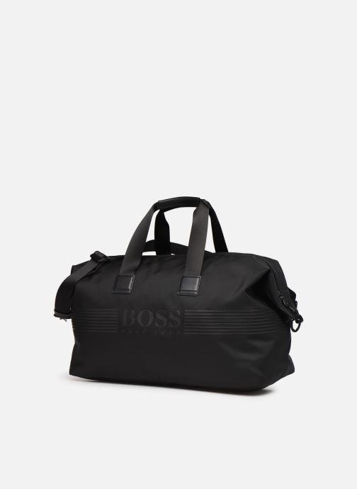 Sporttaschen BOSS Pixel Holdall schwarz schuhe getragen