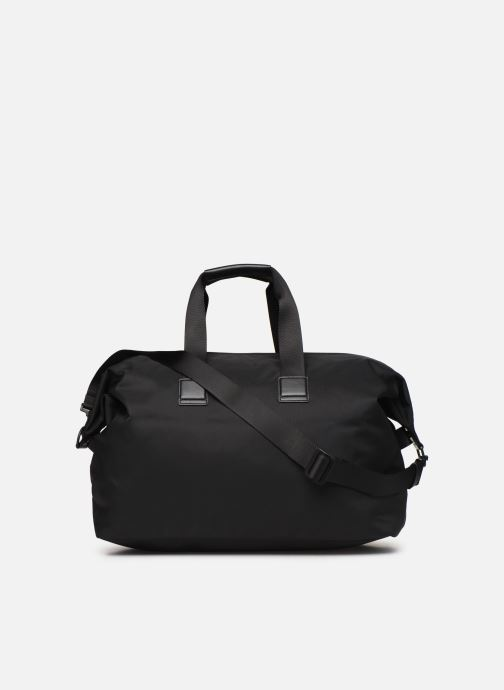 Sports bags BOSS Pixel Holdall Black front view