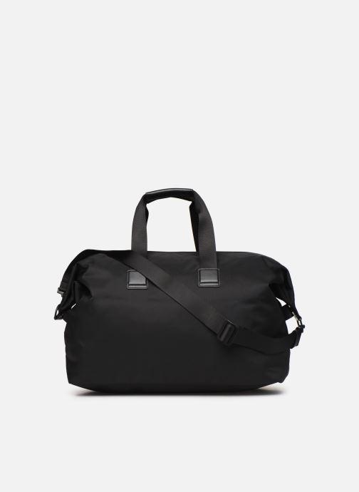 Sporttaschen BOSS Pixel Holdall schwarz ansicht von vorne
