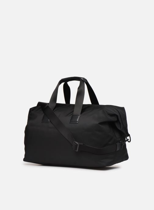 Sports bags BOSS Pixel Holdall Black view from the right