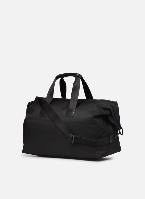 Sporttaschen BOSS Pixel Holdall schwarz ansicht von rechts