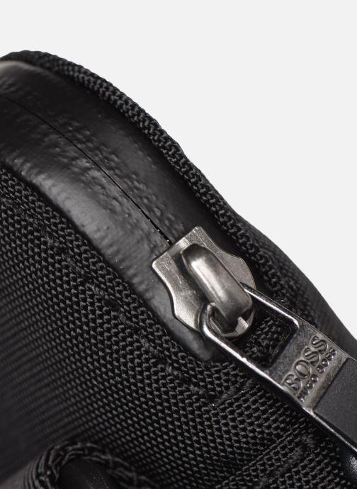 Men's bags BOSS Pixel S zip Black view from the left