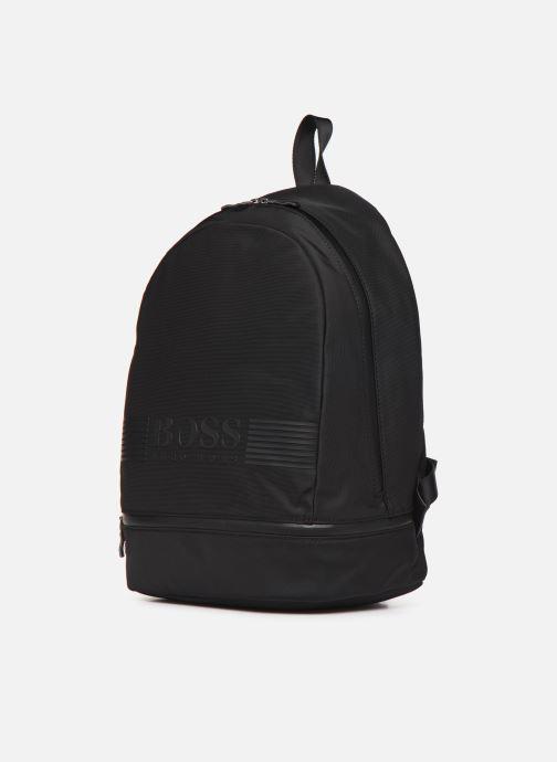 Sacs à dos BOSS Pixel Backp pock Noir vue portées chaussures