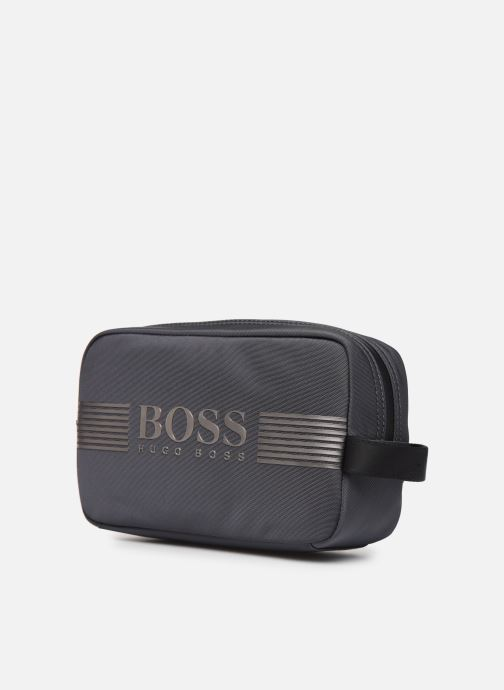 Wallets & cases BOSS Pixel ML Holdall Grey model view