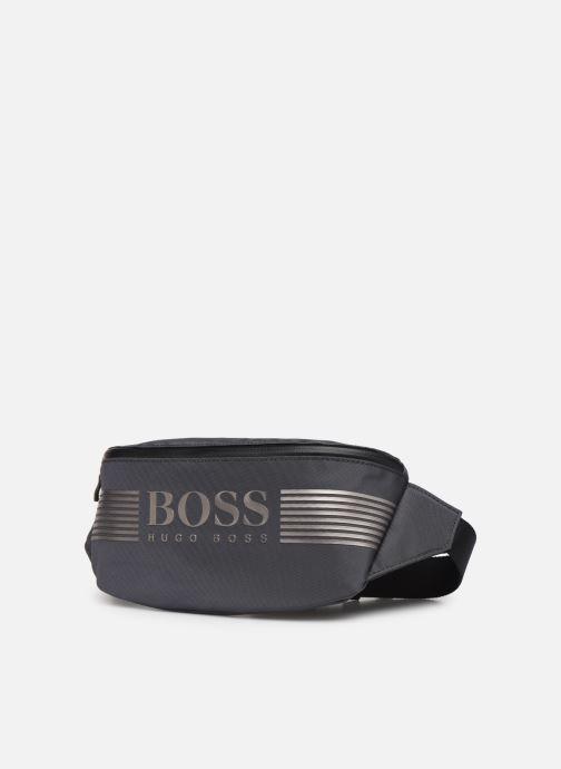 Petite Maroquinerie BOSS Pixel ML Waist bag Gris vue portées chaussures