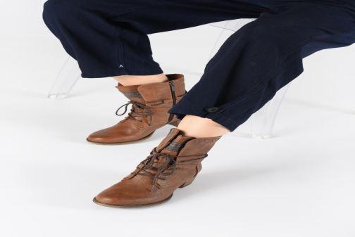 Boots en enkellaarsjes Mustang shoes Julie BIS Bruin onder