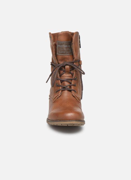 Boots en enkellaarsjes Mustang shoes Julie BIS Bruin model