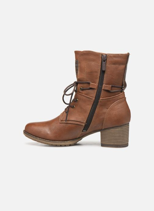 Boots en enkellaarsjes Mustang shoes Julie BIS Bruin voorkant