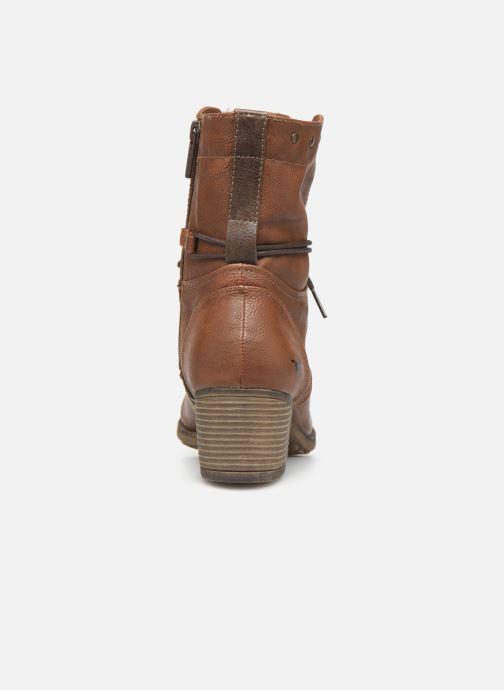 Boots en enkellaarsjes Mustang shoes Julie BIS Bruin rechts