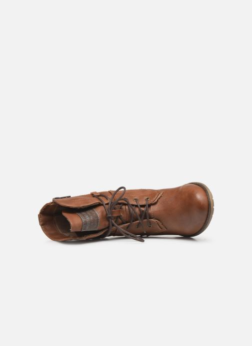 Boots en enkellaarsjes Mustang shoes Julie BIS Bruin links