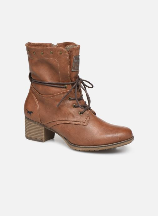 Boots en enkellaarsjes Mustang shoes Julie BIS Bruin detail