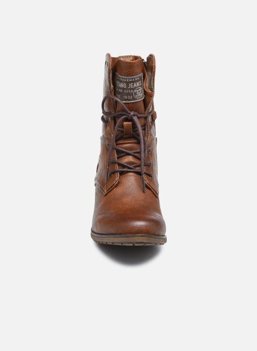 Bottines et boots Mustang shoes Julie BIS Marron vue portées chaussures