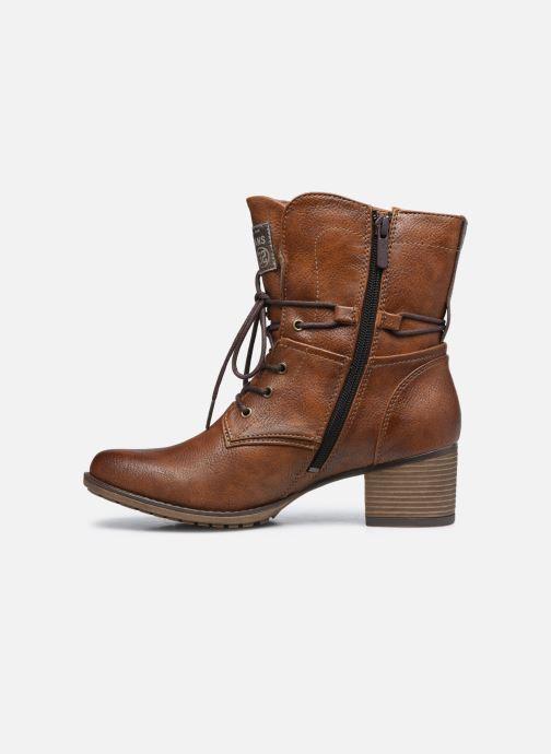 Bottines et boots Mustang shoes Julie BIS Marron vue face