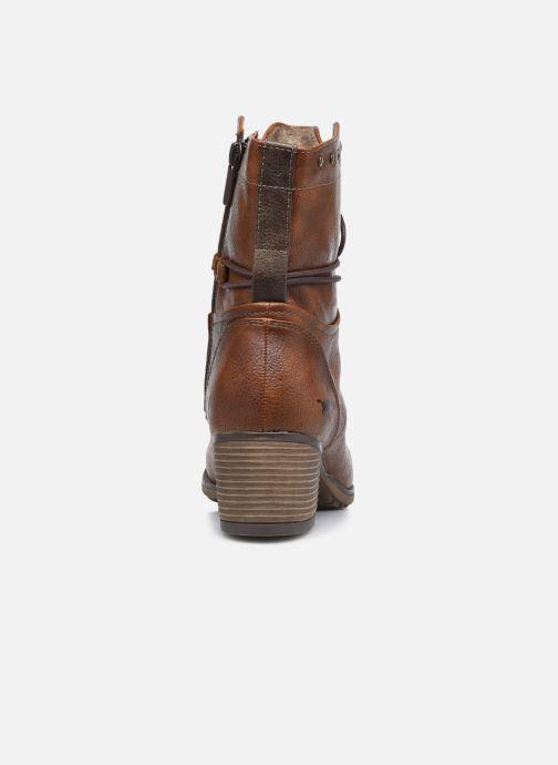 Bottines et boots Mustang shoes Julie BIS Marron vue droite