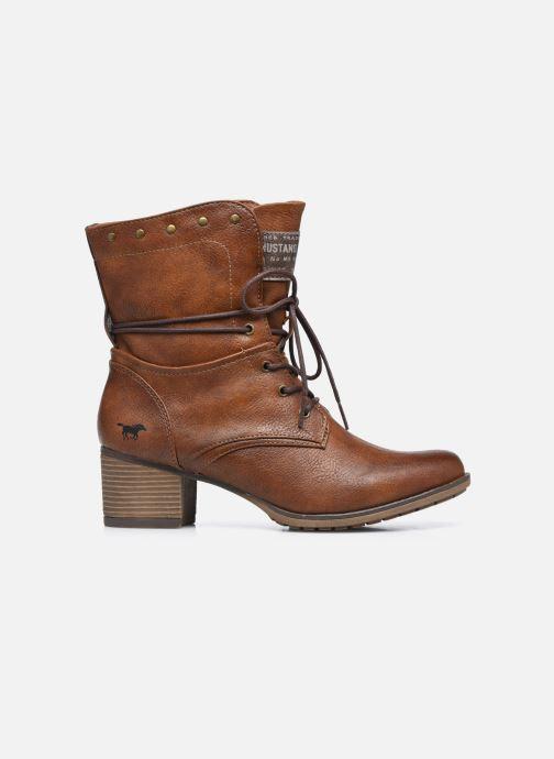 Bottines et boots Mustang shoes Julie BIS Marron vue derrière