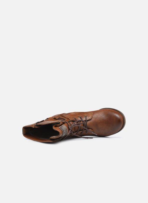 Bottines et boots Mustang shoes Julie BIS Marron vue gauche