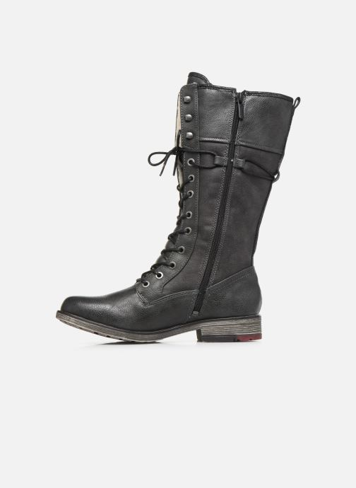 Boots & wellies Mustang shoes Josefi Grey front view