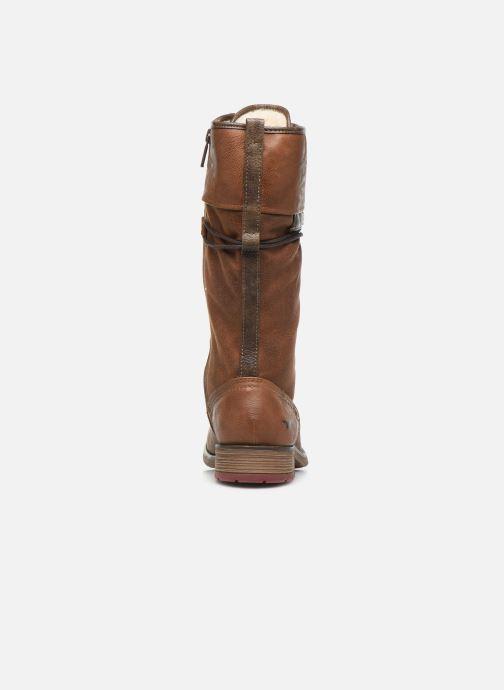 Bottes Mustang shoes Josefi Marron vue droite