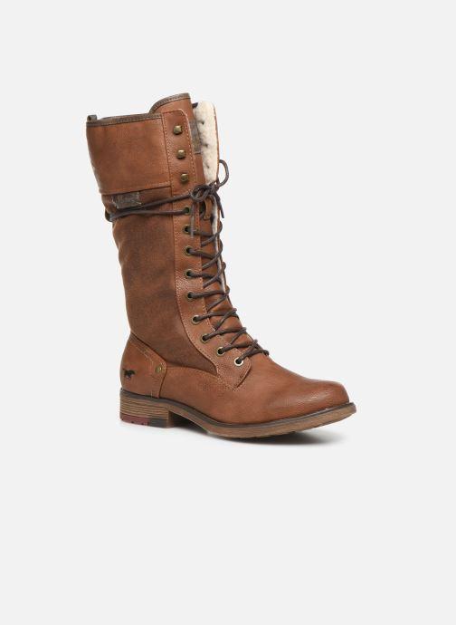Bottes Mustang shoes Josefi Marron vue détail/paire