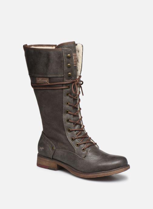 Bottes Mustang shoes Josefi Gris vue détail/paire