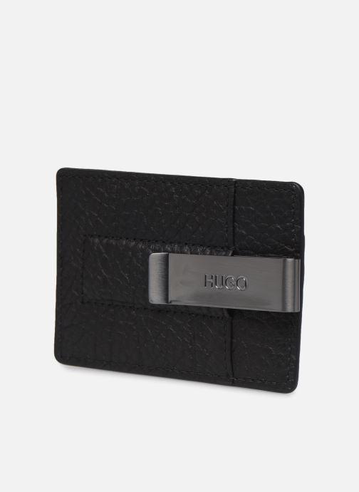 Petite Maroquinerie Hugo VICTORIAN MONEY CARD HOLDER Noir vue droite
