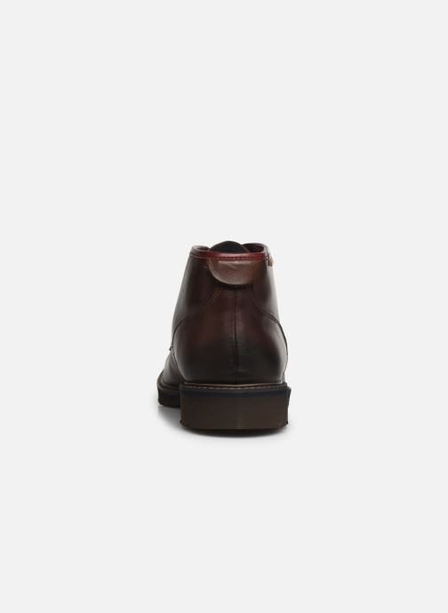 Ankle boots Pikolinos Bilbao M6E-8320 Brown view from the right