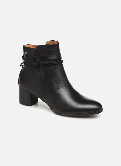 Boots en enkellaarsjes Pikolinos CALAFAT W1Z-8635 Zwart detail