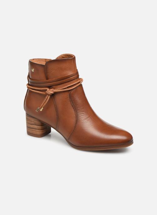 Bottines et boots Pikolinos Calafat W1Z-8635 Marron vue détail/paire