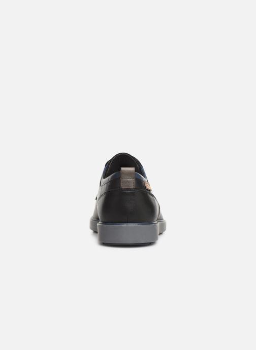 Zapatos con cordones Pikolinos Corcega M2P-4325 Negro vista lateral derecha