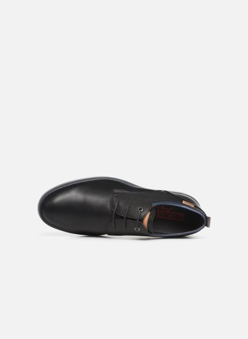 Zapatos con cordones Pikolinos Corcega M2P-4325 Negro vista lateral izquierda