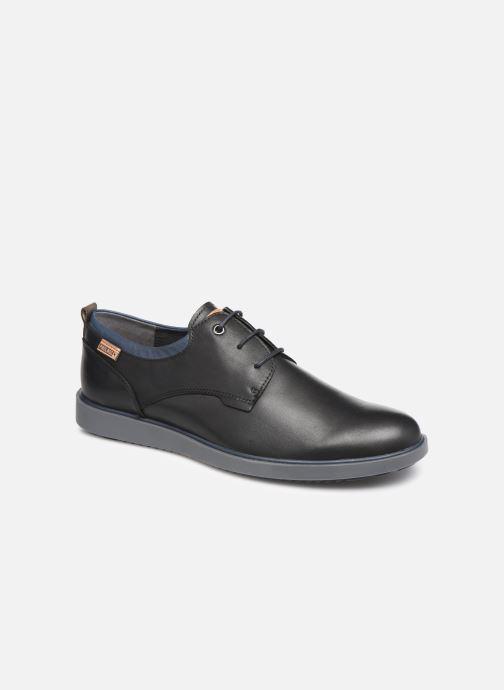Zapatos con cordones Pikolinos Corcega M2P-4325 Negro vista de detalle / par