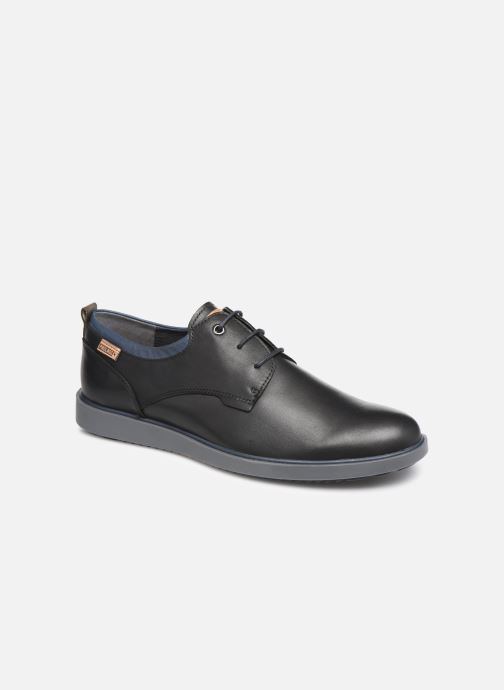 Lace-up shoes Pikolinos Corcega M2P-4325 Black detailed view/ Pair view