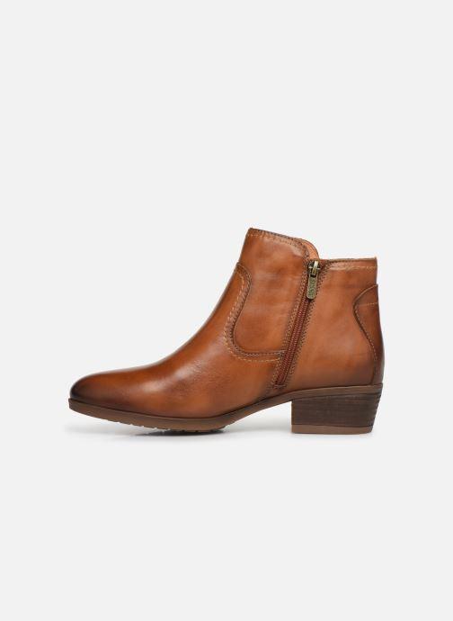 Boots en enkellaarsjes Pikolinos Daroca W1U-8774 Bruin voorkant