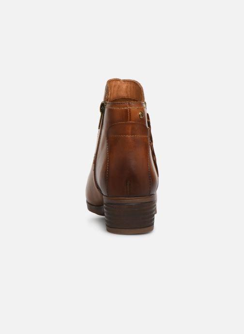Bottines et boots Pikolinos Daroca W1U-8774 Marron vue droite