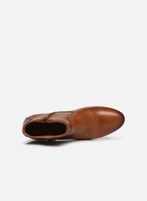 Boots en enkellaarsjes Pikolinos Daroca W1U-8774 Bruin links