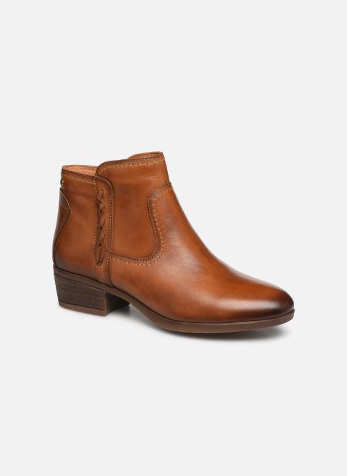 Bottines et boots Pikolinos Daroca W1U-8774 Marron vue détail/paire