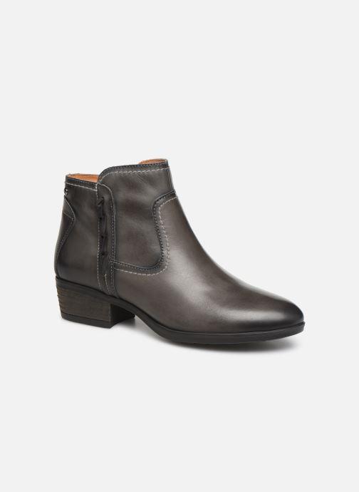Bottines et boots Pikolinos Daroca W1U-8774 Gris vue détail/paire