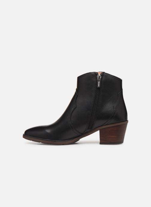 Boots en enkellaarsjes Pikolinos Huelma W2Z-8960 Zwart voorkant