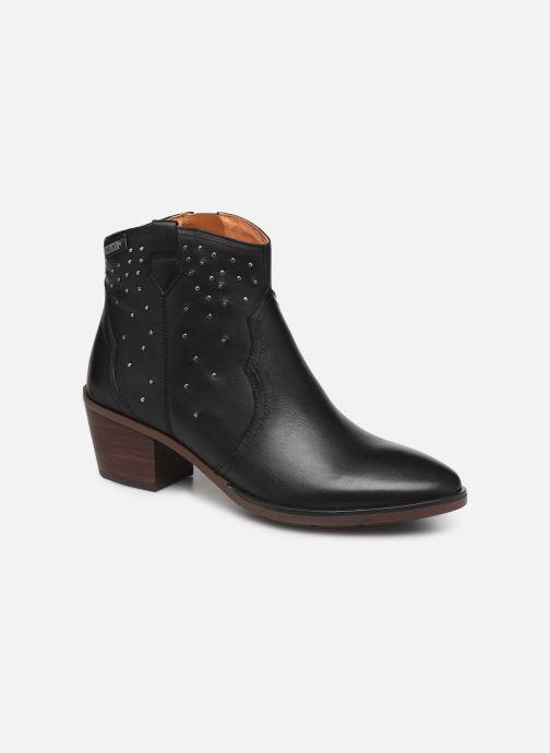 Boots en enkellaarsjes Pikolinos Huelma W2Z-8960 Zwart detail