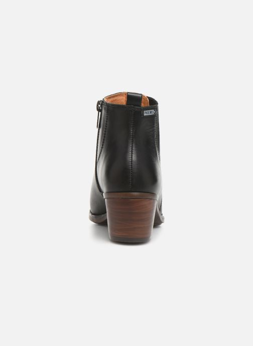 Ankle boots Pikolinos Huelma W2Z-8964 Black view from the right