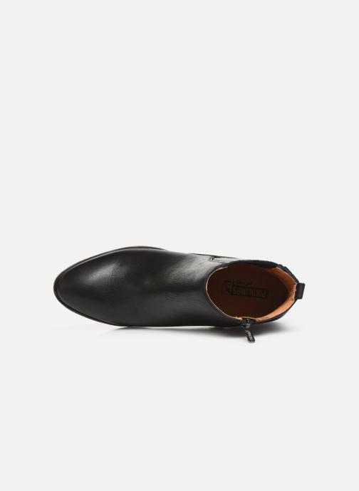Boots en enkellaarsjes Pikolinos Huelma W2Z-8964 Zwart links