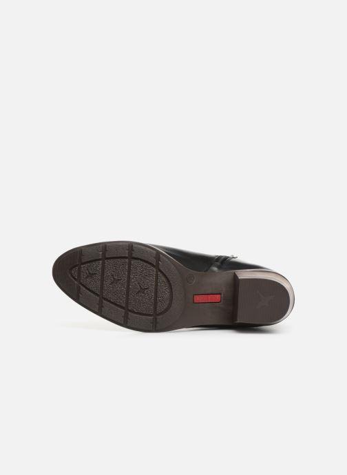 Stiefeletten & Boots Pikolinos Huelma W2Z-8964 schwarz ansicht von oben