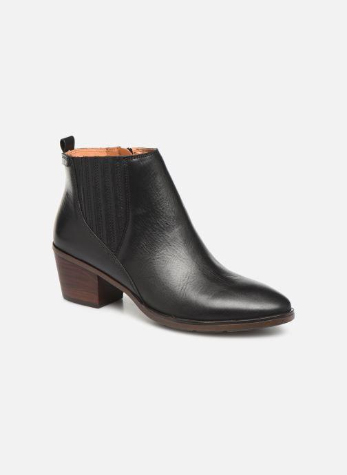 Boots en enkellaarsjes Pikolinos Huelma W2Z-8964 Zwart detail