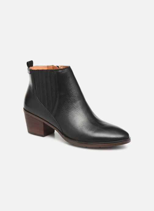 Ankle boots Pikolinos Huelma W2Z-8964 Black detailed view/ Pair view