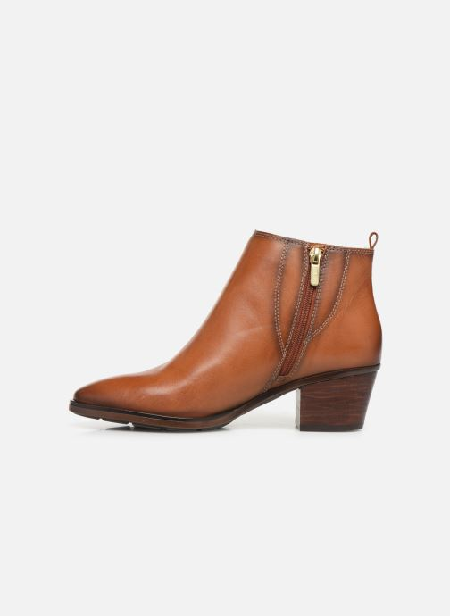 Ankle boots Pikolinos Huelma W2Z-8964 Brown front view