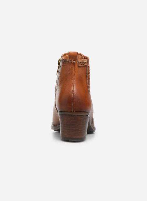 Ankle boots Pikolinos Huelma W2Z-8964 Brown view from the right