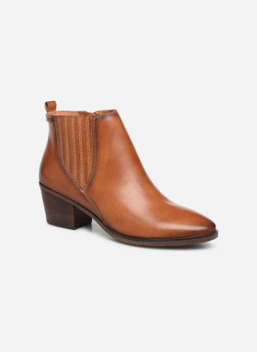 Ankle boots Pikolinos Huelma W2Z-8964 Brown detailed view/ Pair view