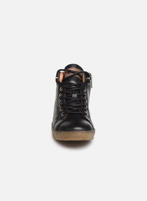 Baskets Pikolinos Lagos 901-8508 Noir vue portées chaussures