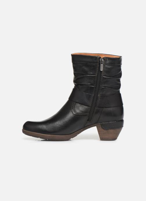 Bottines et boots Pikolinos Rotterdam 902-8890 Noir vue face