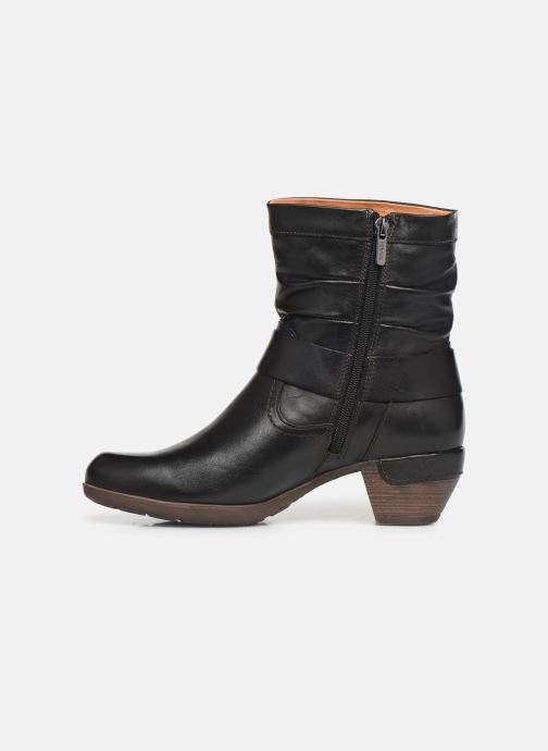 Ankle boots Pikolinos Rotterdam 902-8890 Black front view